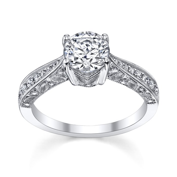 engagement rings vintage fischer jewelry designs