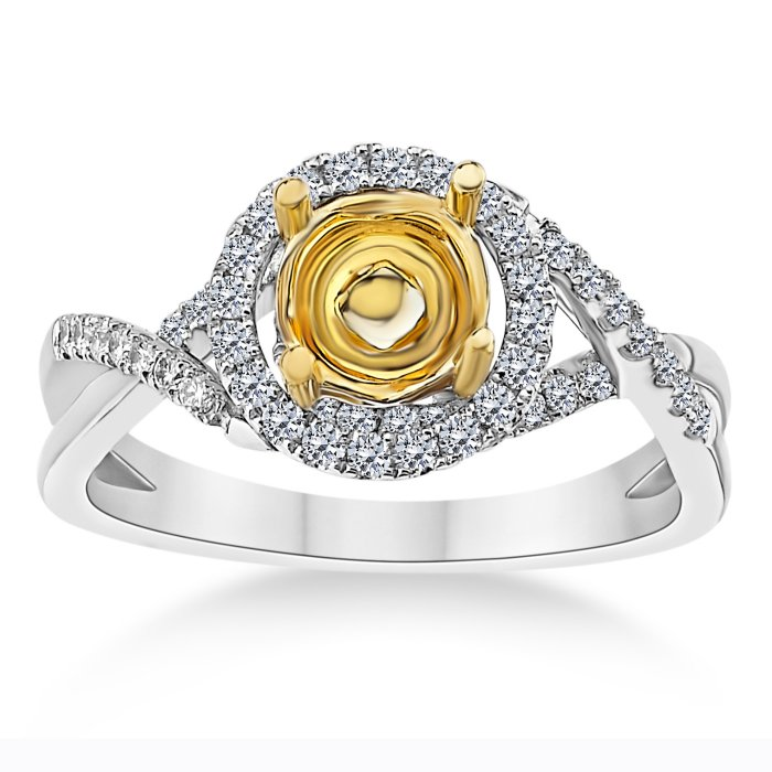 engagement ring twisted fischer jewelry designs