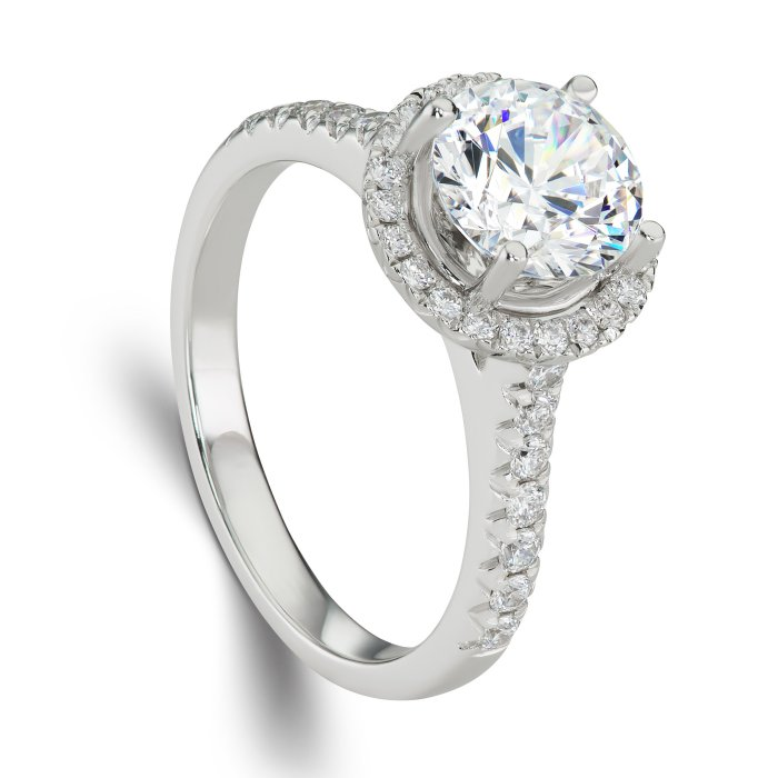 ring gw4515 classic brilliance this stunning halo engagement ring
