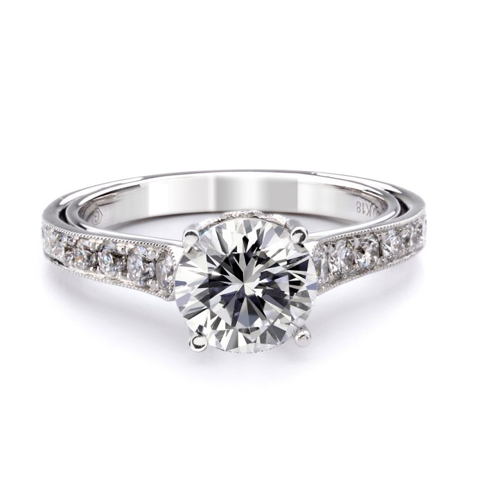 engagement ring vintage fischer jewelry designs