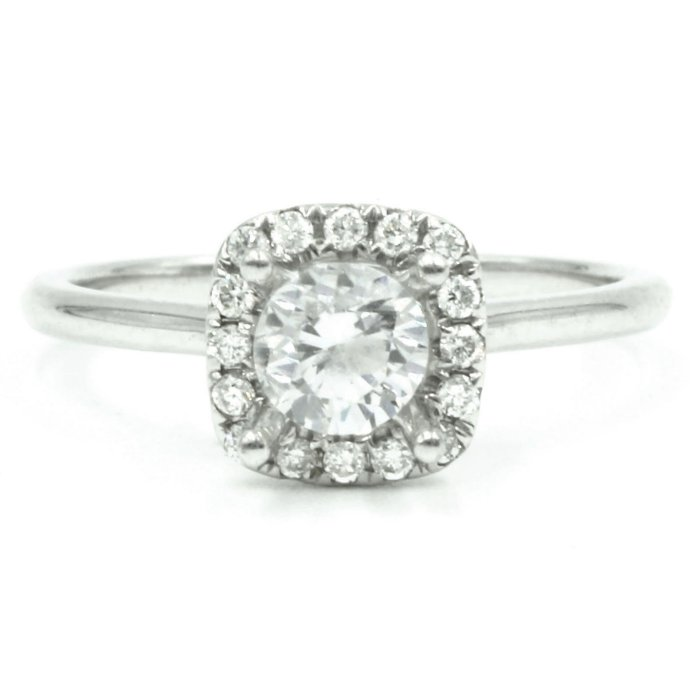 engagement ring halo fischer jewelry designs